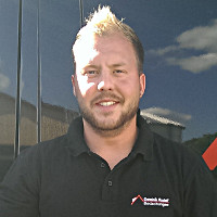 Dominik Rudolf Dachdeckermeister und Firmeninhaber